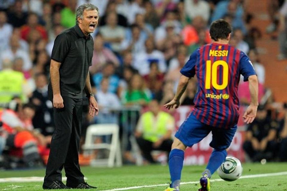 Mourinho Messi