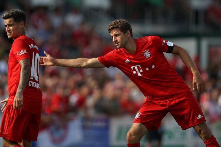 Bos Bayern Sebut Muller dan Coutinho Tak Bisa Main Bersama, Kenapa?