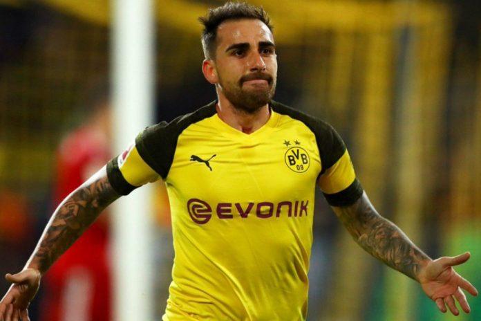 Dortmund vs Barcelona: Paco Alcacer Berharap Messi Tidak Main