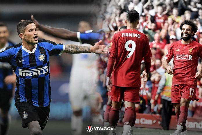 Inter dan Liverpool Enggan Turunkan Pedal Gas di Masing-Masing Liga