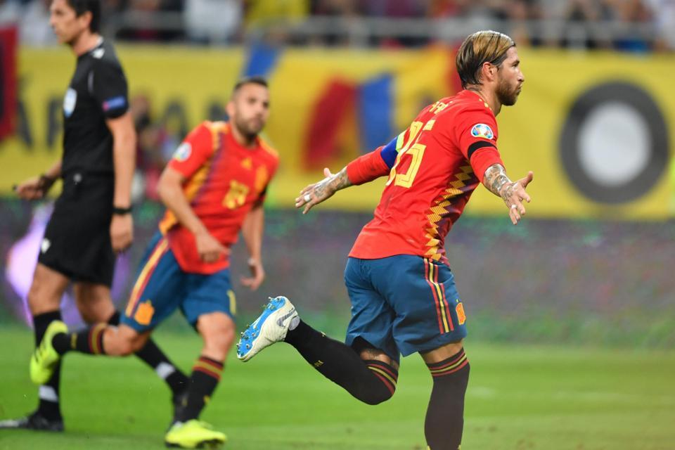 Ramos Torehkan Rekor Bersama Timnas Spanyol