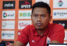 Toncip Siap Raih Kemenangan di Kandang Borneo