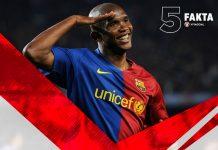 5 Fakta Sang Bintang Afrika Samuel Eto'o