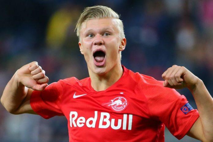 Haland Liverpool Salzburg