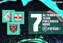 7 Tim Alternatif yang Bisa Dimainkan di Career Mode FIFA 20