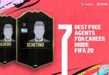 7 Pemain Free Agent Terbaik di Career Mode FIFA 20