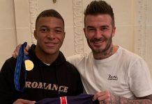 Beckham berburu Cuan dari Mbappe