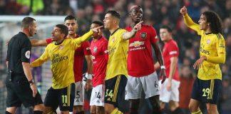 Bentrok MU Vs Arsenal Seperti Pertemuan Dua Tim Medioker