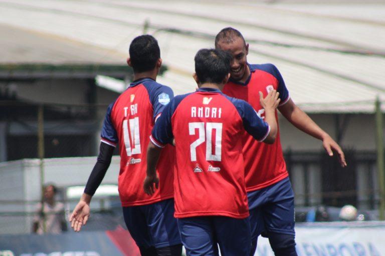 Gol Tunggal Dippi Bungkam Alpi Jaya Raya FC