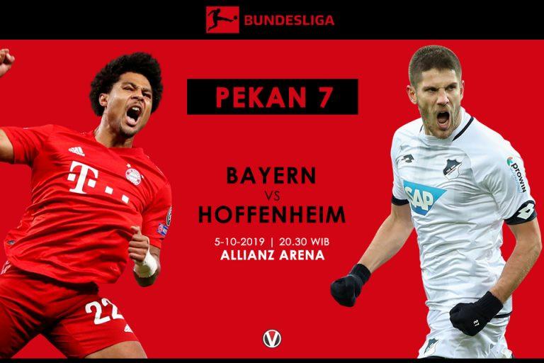 Prediksi Bayern Munchen vs Hoffenheim: Niko Kovac Pantang Anggap Remeh