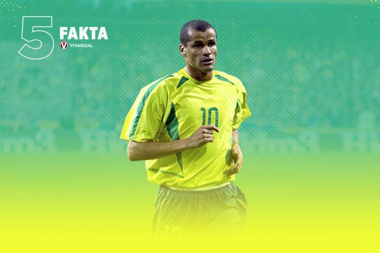 5 Fakta Sang Legenda Brasil, Rivaldo Ferreira