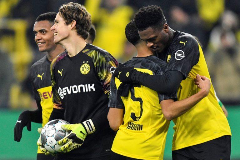 Pemain Ini Jadi Pahlawan Dortmund Saat Bungkam Gladbach