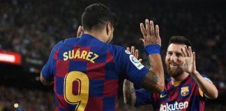 Duet Messi Suarez