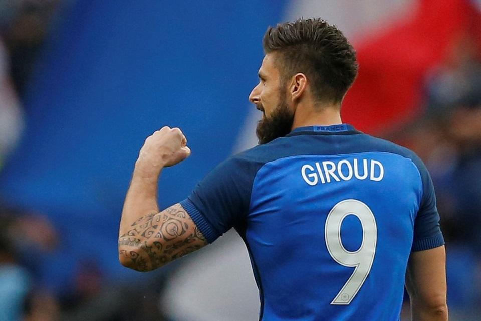 Giroud Timnas Prancis