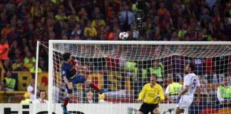 Gol Sundulan ke Gawang MU Jadi Favorit Messi