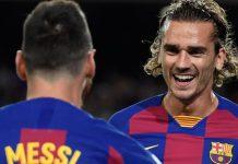 Masalah Griezmann Messi