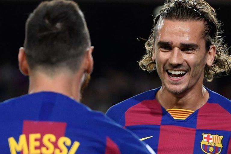 Pique Bantah Hubungan Griezmann dan Messi Tak Akur