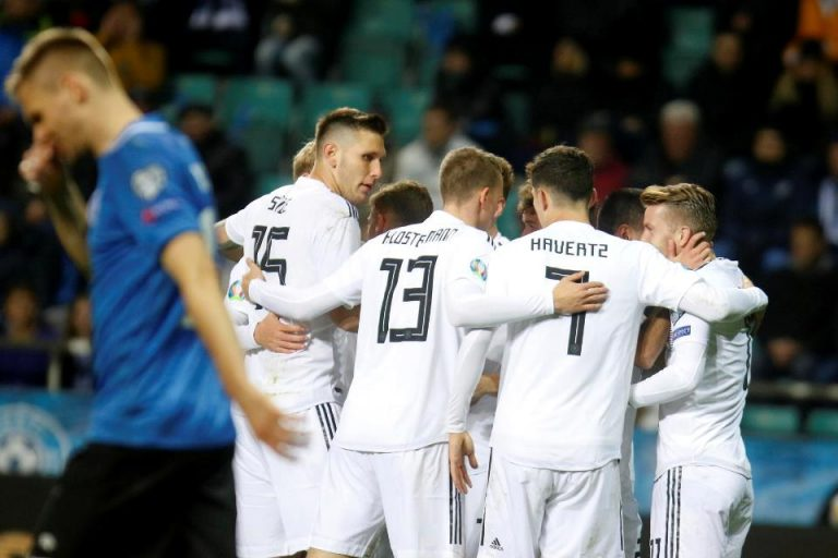 Jerman Bungkam Estonia dengan Sepuluh Pemain