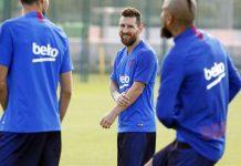 Jelang Laga Kontra Inter, Messi Sudah Ikuti Sesi Latihan