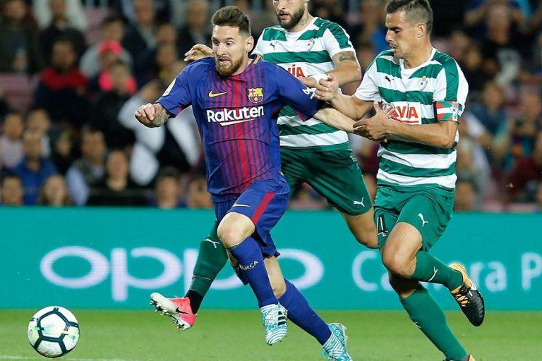 Jelang Kontra Eibar, Messi Hobi Bobol Gawang Lawan