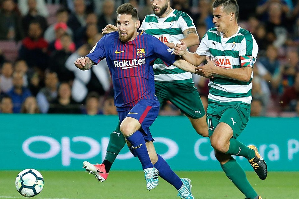 Lionel Messi vs Eibar