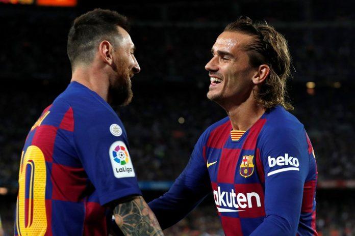 Messi Bantah Berita Dirinya Tak Suka Griezemann