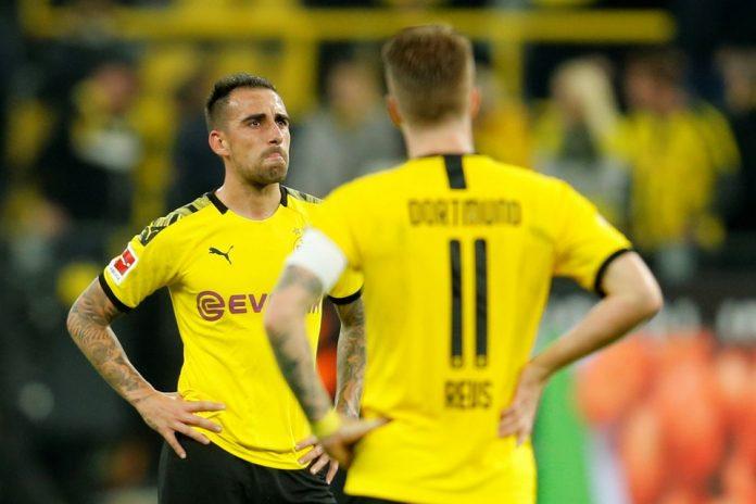 Paco Alcacer Masih Absen Saat Dortmund Jamu Monchengladbach