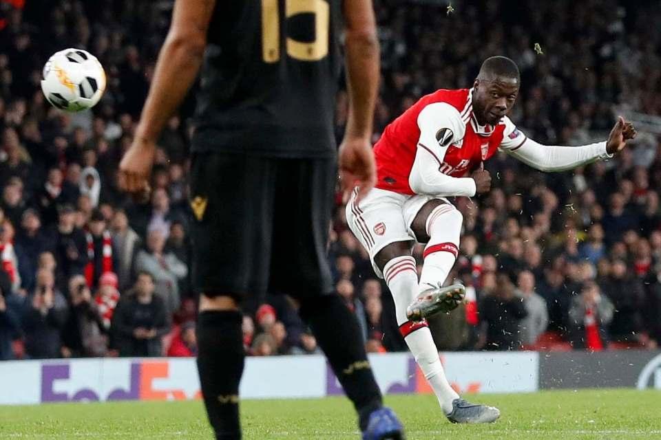 Pepe Ungkap Fakta Terkait Proses Adaptasinya di Arsenal