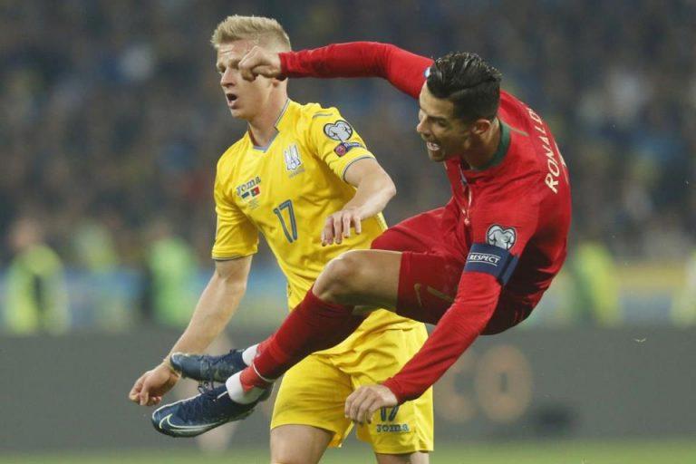 Tumbangkan Portugal, Ukraina Lolos ke Euro 2020