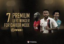 7 Winger Premium di Career Mode FIFA 20