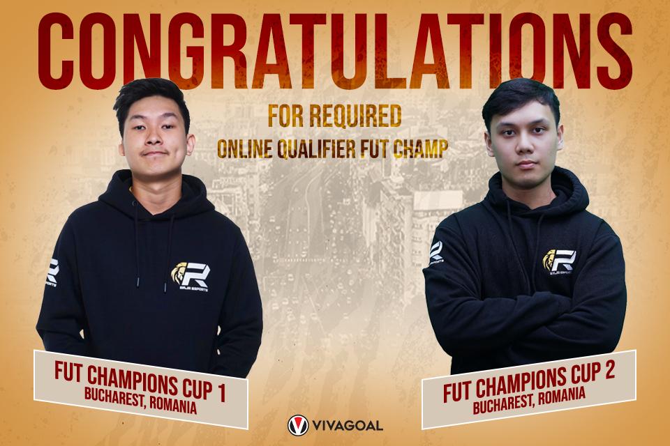 Dua Player Raja Esports Lolos ke Online Qualifier FUT Champions Rumania!