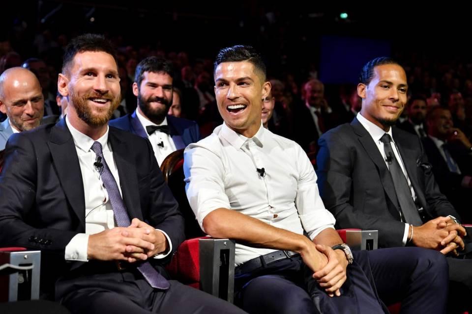 Ronaldo Bersaing Dengan Messi Buat Saya Jauh Lebih Baik
