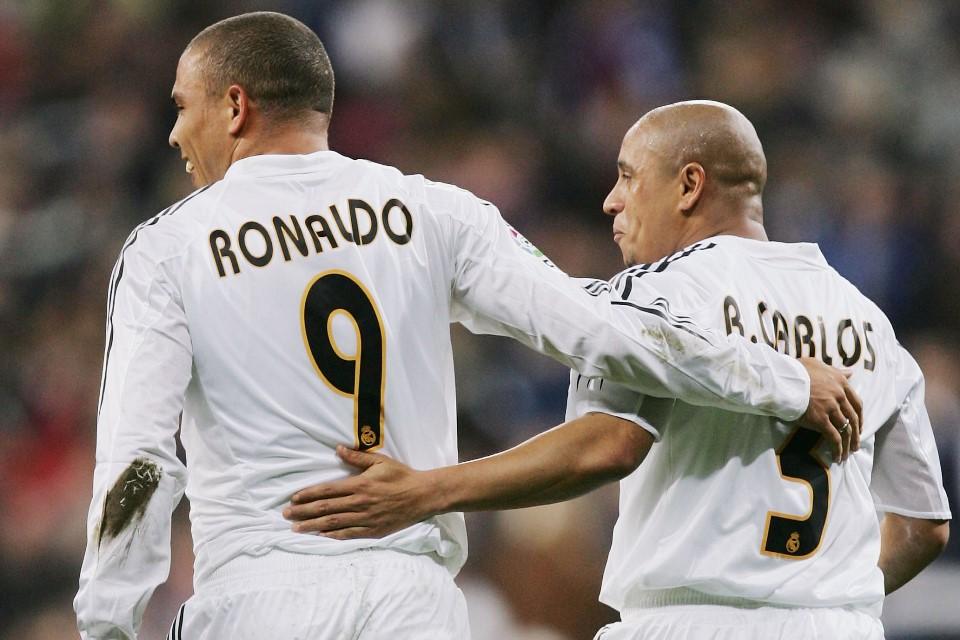 Roberto Carlos Akui Lebih Sering Tidur Bareng Ronaldo Dibanding Istrinya Sendiri!