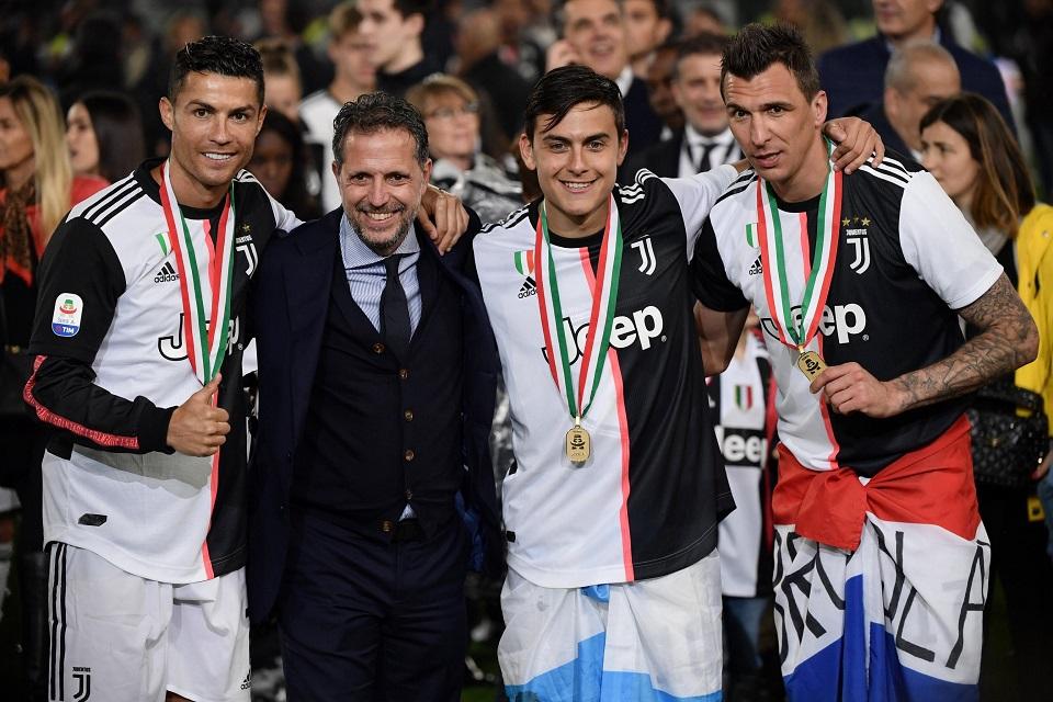 Direktur Olahraga Juventus Tegaskan Bintangnya Tak Akan Dijual!