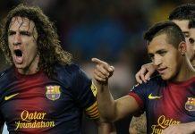 Jelang Laga Kontra Barcelona, Alexis Sanchez Kenang Mantan Rekannya