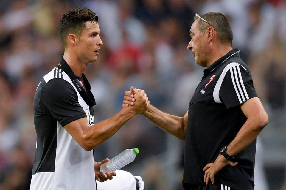 Ronaldo and Sarri