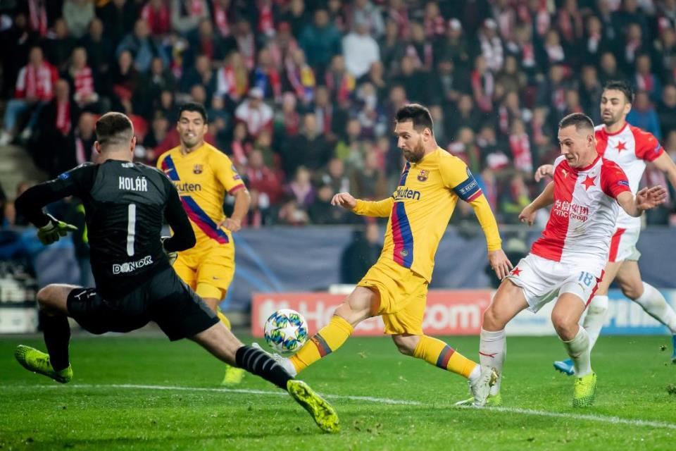 Slavia Praha Jadi Korban ke-33 Messi Di Liga Champions