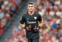 Tak Puas Dengan Courtois, Madrid Lirik Kiper Belia Athletic Bilbao