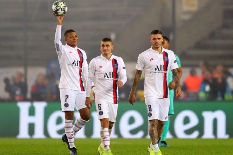 Trigol Mbappe Warnai Pesta Gol PSG ke Gawang Brugge