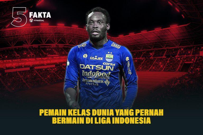 5 Pemain Kelas Dunia yang Pernah Bermain di Liga Indonesia