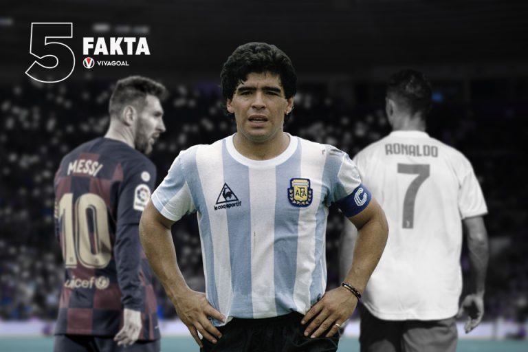 5 Pemain Ikonik Sebelum Era Messi-Ronaldo