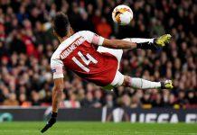 Aubameyang Arsenal Barca
