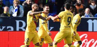 Hampir Alami Kekalahan, Barcelona Bertengger di Puncak Klasemen