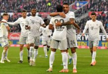 Hasil Duesseldorf v Bayern: Pesta Gol Die Roten Masih Berlanjut