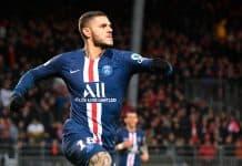 Brest vs PSG Icardi Kembali Jadi Pahlawan Kemenangan