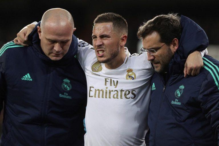 Real Madrid Konfirmasi Cedera yang Dialami Eden Hazard