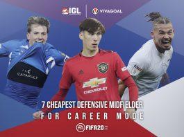 7 Gelandang Bertahan Terbaik dengan Harga Kompetitif di Career Mode FIFA 20