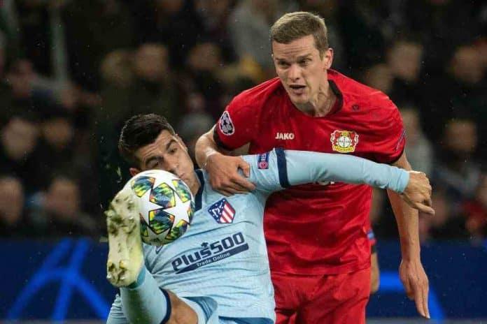 Dikalahkan Leverkusen, Atletico Gagal Ikuti Jejak Juventus Lolos ke Fase Gugur