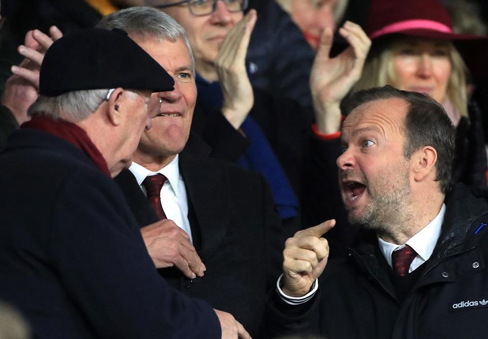 Ed Woodward And Sir Alex Ferguson