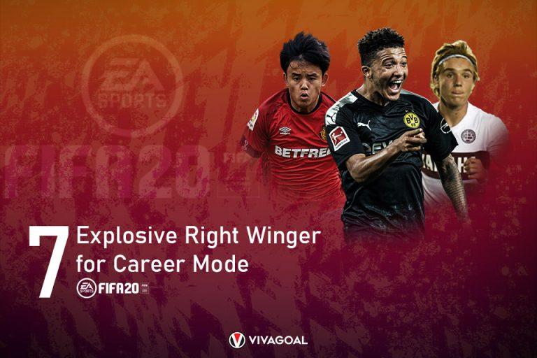 7 Winger Kanan Eksplosif yang Siap Buktikan Diri di Career Mode FIFA 20